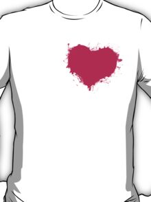 Grungy Heart Tees and Accessories! T-Shirt