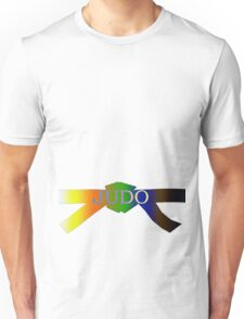 Judo Belt - Gradient Unisex T-Shirt