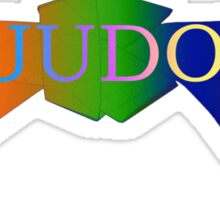 Judo Belt - Gradient Sticker