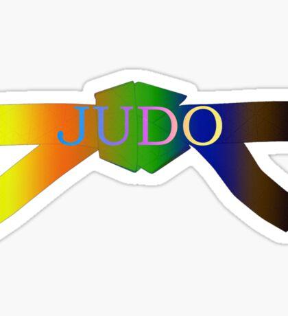 Judo Belt - Gradient Sticker