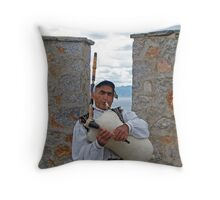 Balkan's Pipe Throw Pillow
