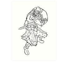 Dragon Kin Celtic Art Print