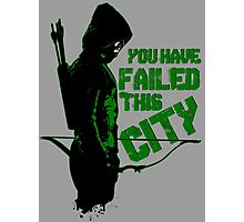 Green Vigilante Photographic Print