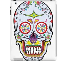 skull grey iPad Case/Skin