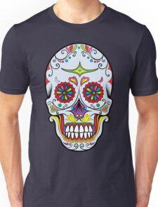 skull grey Unisex T-Shirt