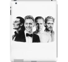 The Many Faces of Tom Hiddleston iPad Case/Skin