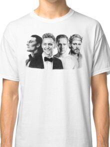 The Many Faces of Tom Hiddleston Classic T-Shirt
