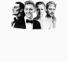 The Many Faces of Tom Hiddleston Womens Fitted T-Shirt