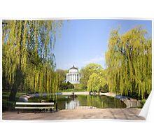 Saxon Garden in Warsaw Poster