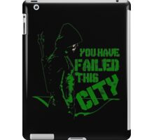 Vigilante all black iPad Case/Skin