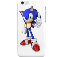 Sonic - Sonic the Hedgehog iPhone Case/Skin