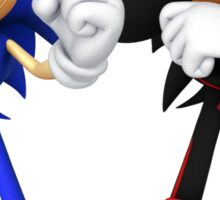 Sonic and Shadow - Sonic the Hedgehog Sticker