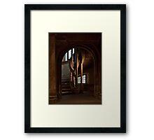 Stair case Framed Print