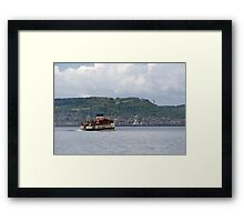 The  Waverley Paddle Steamer Framed Print