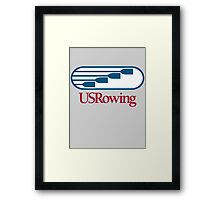 US Rowing Framed Print