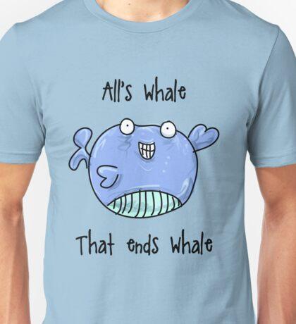 Whale Bad Joke! Unisex T-Shirt