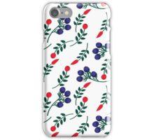 berries pattern iPhone Case/Skin