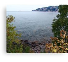 Old Woman Bay, Lake Superior Canvas Print
