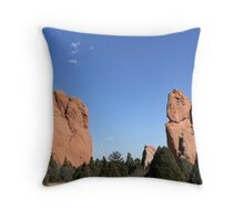 The Garden of the Gods  Throw Pillow