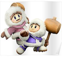 Ice Climbers - Super Smash Bros Poster