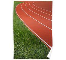 Running Track Poster