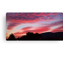 Dandenong sunrise series #2 Canvas Print