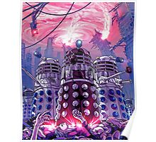 Doctor Who - Daleks Invading the Earth Poster
