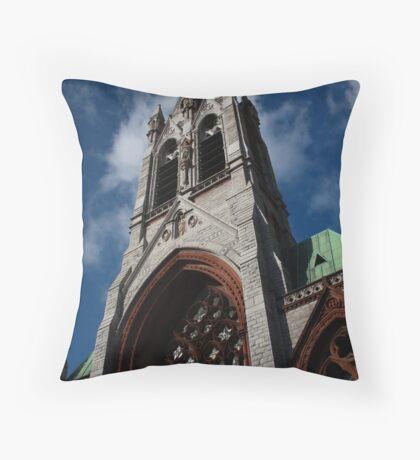 Dublin Blue Sky Church Throw Pillow