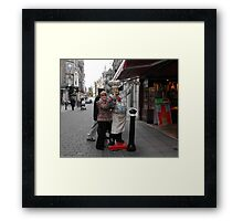 Thumbs Up Framed Print