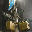 Broadway and 50th by CorneliaT