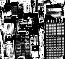 Chicago - An abstract concrete jungle by Ghelly