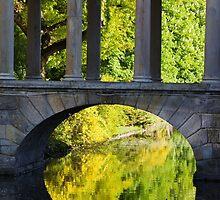Park Lake Bridge by Artur Bogacki