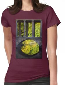 Park Lake Bridge Womens Fitted T-Shirt