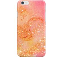 GARDEN OF THE LOST SHADOWS MAGIC GOLD SPARKLES iPhone Case/Skin
