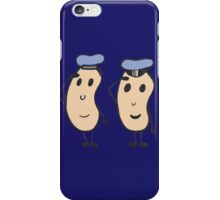 Navy Beans iPhone Case/Skin