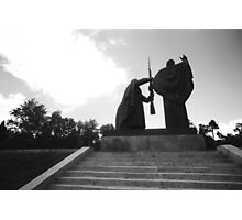 Tomsk WW II War Memorial Photographic Print