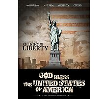 Battle For Religious Liberty Photographic Print