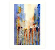 Boulevard Blues Art Print