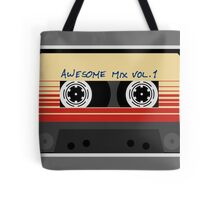 Awesome, Mix Tape Vol.1, Guardians of the galaxy Tote Bag