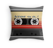 Awesome, Mix Tape Vol.1, Guardians of the galaxy Throw Pillow