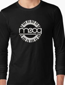 Vintage Moog Synthesizer Long Sleeve T-Shirt