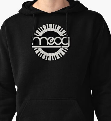 Vintage Moog Synthesizer Pullover Hoodie