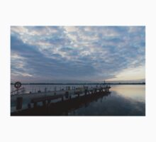 Morning Jetty - A Luminous Daybreak On The Waterfront Kids Clothes