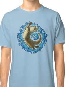 Otter Waves Classic T-Shirt