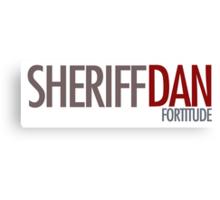 Fortitude - Sheriff Dan Canvas Print