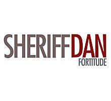 Fortitude - Sheriff Dan Photographic Print