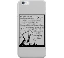 Hunger Games - The Hanging Tree Song (2) iPhone Case/Skin
