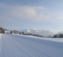 wintertime in austria by mike88138