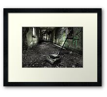 Sack the janitor Framed Print
