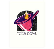 Toca Bowl Art Print